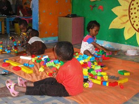 Photo : atelier d'éveil, Antananarivo 2007