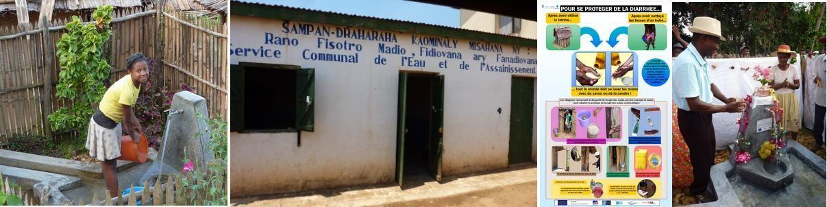 Programmes Eau, Hygiène, Assainissement d'Inter Aide à Madagascar