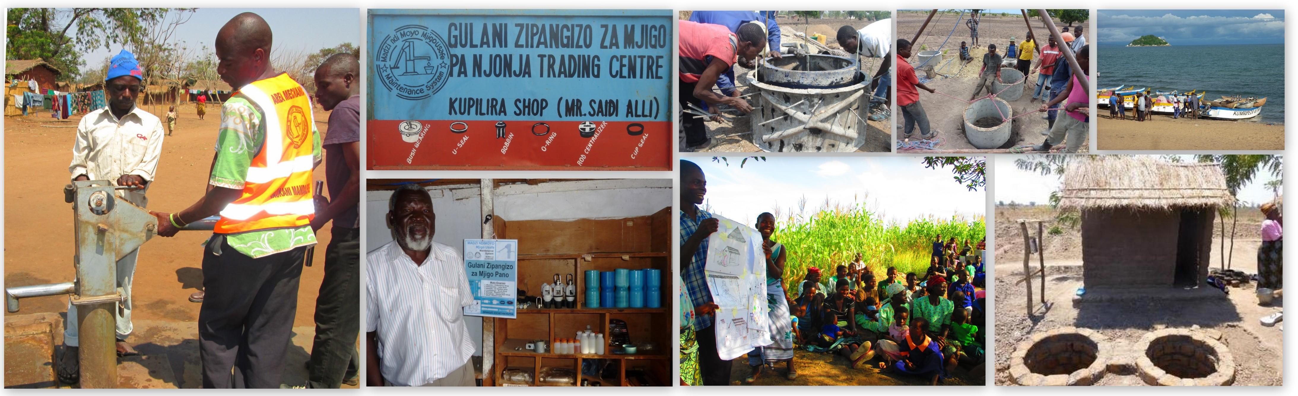 hand pump Maintenance, water and sanitation in Malawi